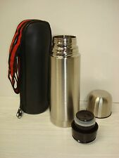 Stainless Steel Flask / Tumbler with Zippered Cover