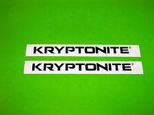 KRYPTONITE MOTORCYCLE BMX DIRTBIKE LOCKS ATV UTV QUAD MOTOCROSS DECAL STICKERS #