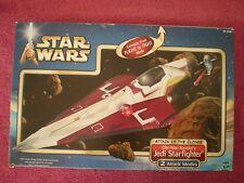 "Star Wars Obi-Wan-Kenobi's Jedi Starfighter ""Attact Of The Clones"" AOTC Complete"