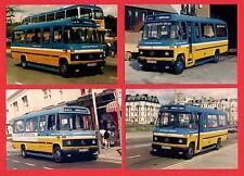 4 Photos ~ Hastings & District - Mercedes Minibuses D228UHC etc: Rye - 1987-90