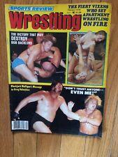 Sports Review Wrestling Bob Backlund Blackjack February 1979