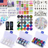 3D Nail Art Transfer Stickers Nails Foils Flower Decals Decoration Nails Tips