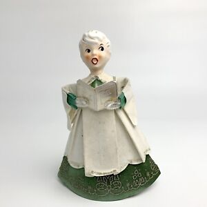 Vintage Howard Holt Angel Porcelain white, card board base, Made in Japan
