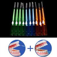 Clean Tooth Floss Head Hygiene Dental Plastic Interdental Brush Toothpick KY|