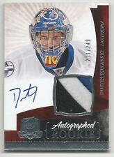 10-11 Dustin Tokarski The Cup Auto Rookie Card RC #147 Jersey Patch 211/249