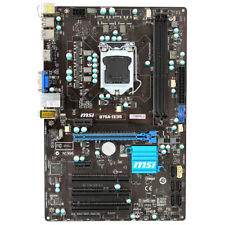 Motherboard  for MSI B75A-IE35 Intel  CPU i7 i5 i3 LGA 1155 DDR3 MS-7758 VER 4.0
