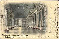 Versailles France AK 1900 La Galerie des Glaces Spiegelsaal gelaufen n. Breslau