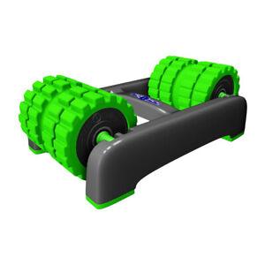 Foam Roller Back Baller Dual Mounted Foam Self Messaging Muscle Relief Rehab