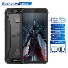 """5.5"""" Blackview BV5500 Pro Ram 3Go Rom 16Go Smartphone Étanche 4G Téléphone Noir"""