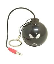 3.5mm Plug Mini Portable USB Rechargeable Speaker Angry Bomb Design PC Tablet