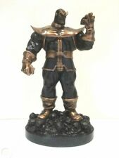"Bowen Designs THANOS Faux Bronze Edition 15"" Scale Painted Statue Marvel"