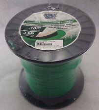 3lb .105 Commercial String Trimmer Line ROUND Shape