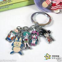 Anime Dragon Ball Dragonball Z DBZ cosplay Son Goku characters key ring keychain