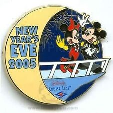 Disney Pin: DCL New Year's Eve 2005 Mickey & Minnie