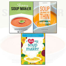 Skinny Soup Maker,I Love My Soup,Soup Can Make You Thin 3 Books Collection Set