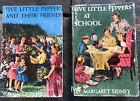 FIVE+LITTLE+PEPPERS%7E+LOT+OF+2+VINTAGE+1937+BOOKS+W%2FDUST+JACKETS+Margaret+Sidney