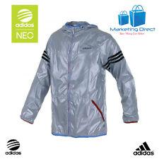 NEW Men's Adidas 'Neo 3S' Wind runner / Rain Coat Hooded Jacket (G82927)