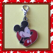 ❤️ Disney Mickey Mouse ❤️ Zipper Pull Charm with Lobster Clasp /Brand New #54
