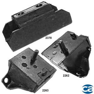 For 68-70 Engine Motor Mounts & Trans. Mount 3Pcs Set for Oldsmobile 98 7.5L