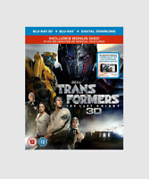 Transformers: The Last Knight Blu-ray [3D + 2D] 2 Disc Edition Sci-fi Movie NEW