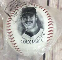 1996 Burger King FOTOBALL MLB PA MSA Cleveland Indians Carlos Baerga