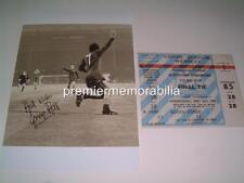 MANCHESTER UNITED FC 1968 EUROPEAN CUP FINAL GEORGE BEST SIGNED (PRINTED) SET 7