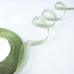 """Free Shipping 50 Yards 3/8""""(10mm)Sheer Organza Ribbon Craft/Wedding/Party"""