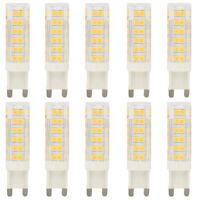 10x 7W G9 LED Stiftsockellampe Leuchtmittel Lampe Leuchte Warmweiß 3000K