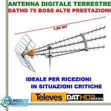 ANTENNA DIGITALE TERRESTRE PER BASSI SEGNALI DATHD75 BOSS NEW LTE TELEVES 149740