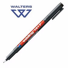 Edding 141F Fine Black Marker Pens also great for Plant Labels & Outdoor Marking