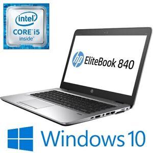 """HP EliteBook 840 G3 Intel i5 6300U 8G/16G 256 SSD WiFi 14"""" FHD Touch Win 10 Pro"""