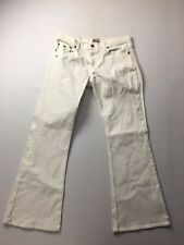 TOMMY HILFIGER Hipster 'Bootcut' Jeans - W30 L30 - White - Great Condition