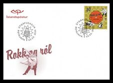 Iceland 2006 FDC, 50 Years of Rock'n Roll Music, Lot # 1.