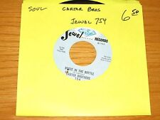 "SOUL / BLUES 45 RPM - CARTER BROTHERS - JEWEL 754 - ""BOOZE IN THE BOTTLE"""