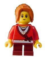 Lego Mädchen dunkelrote Beine Pony Kind (hol101) Minifigur City Basics Neu