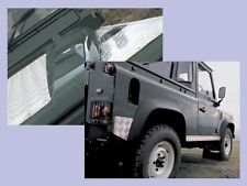 LAND ROVER DEFENDER 90 CHEQUER PLATE KIT BONNET, WINGS, SILLS AND REAR CORNERS