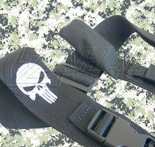 2 Point Adjustable Tactical Sling with Punisher Logo (Black)