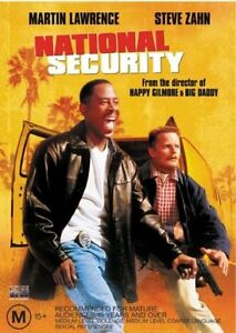 National Security (R4 DVD, 2003) Martin Lawrence & Steve Zahn
