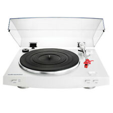 AudioTechnica AT-LP3WH Fully Automatic Belt-Drive Stereo Turntable (White)