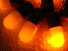 50pcs Orange Neon Light Bulb, Indicator