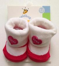 NWT Baby LOVE heart SOCKS Size Infant 0 - 3 MONTHS by Goldbug