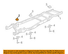 GM OEM Frame-Cushion 25728546
