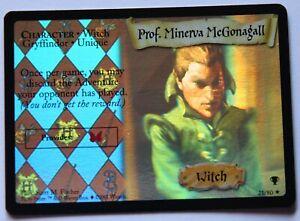 Harry Potter tcg Prof. Minerva McGonagall 21/80 QC holo english