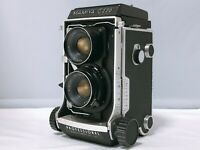 🟢NEAR MINT🟢MAMIYA C220 Pro TLR w/ Sekor 80mm f/3.7 Lens From JAPAN 467