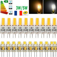 G4 LED COB Ampoule 3W/5W 12V DC Blanc chaud/froid Halogen Lampe 1505SMD 2508SMD