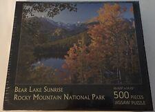 Bear Lake Sunrise Puzzle - Rocky Mtn National Park 500pc