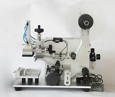 Semi-auto Pneumatic Labeling Machine Square Bottle Surface Flat Labeling 110V