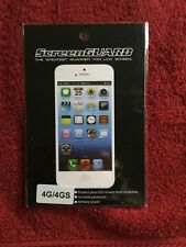 New! Professional Clear Screen Guard LCD Anti-glare Protectors for iPhone 4G/4S