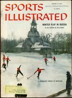 SI: Sports Illustrated January 25, 1960 Winter Play In Russia G