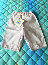NUOVO Petit Bateau pantalone bambina 6 mesi